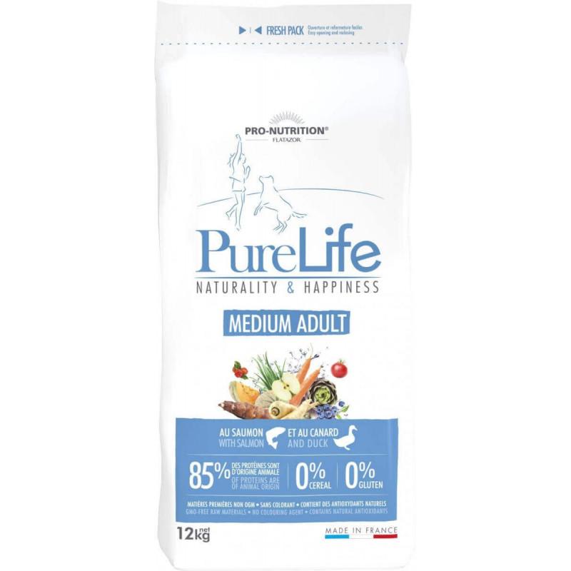 Pure Life - Medium Adult (2 kg ou 12 kg)