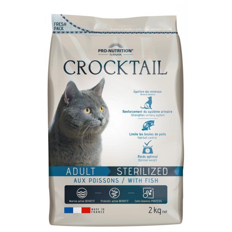Pro-Nutrition Flatazor Crocktail - Adulte Poissons (2 ou 10 kg)