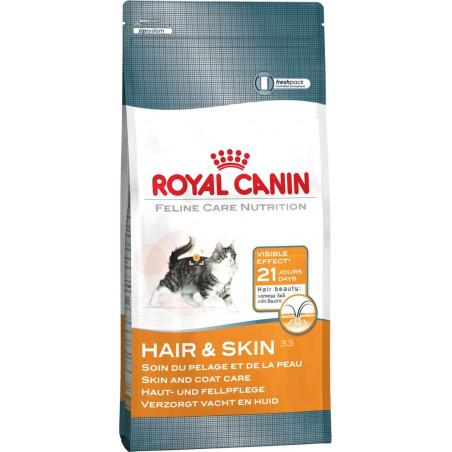 Royal Canin - Hair & skin 33 (2 kg ou 4 kg)