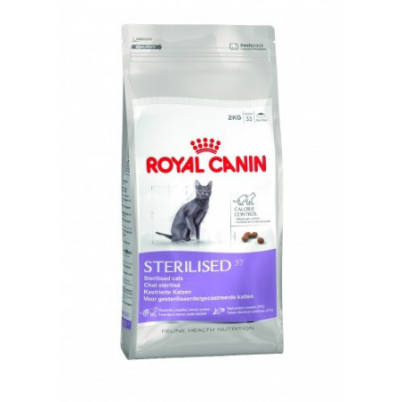 Royal Canin - Sterilised 37 (2 kg 4 kg ou 10 kg)