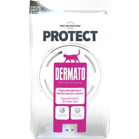 Pro-Nutrition Flatazor Protect Dermato Chat (400g ou 2kg)