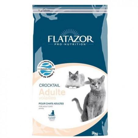 Promo Pro-Nutrition Flatazor Crocktail - Adulte Volailles (3 kg ou 12 kg)