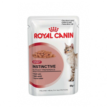 Royal Canin - Instinctive en Sauce pour Chat (12 x 85g)