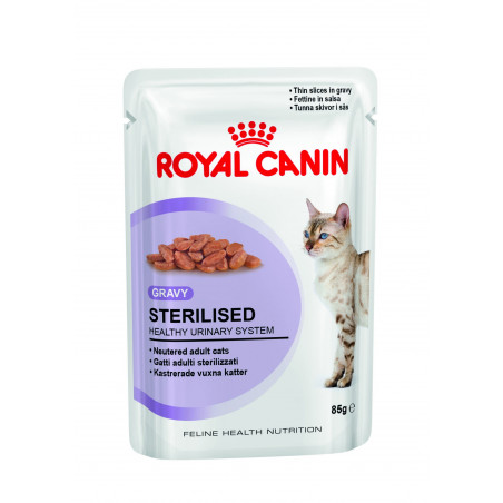 Royal Canin - Sterilised en Sauce pour Chat (12 x 85g)