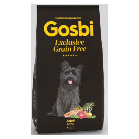 Gosbi - Grain Free - Adulte Mini (2 kg ou 7 kg)