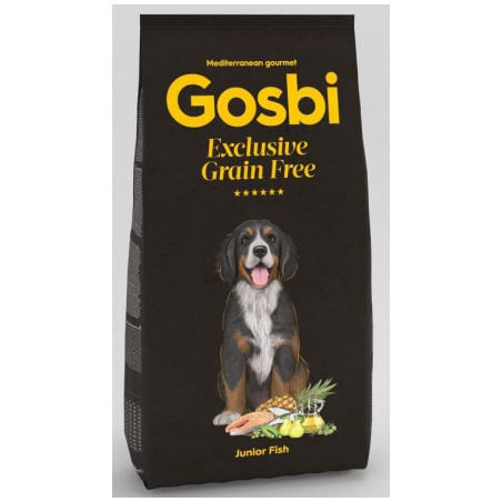 Gosbi - Grain Free - Junior Poisson (3 kg)