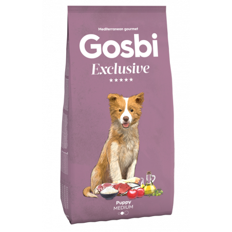 Gosbi - Exclusive - Puppy Medium (3 ou 12 kg)