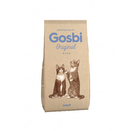 Gosbi - Original - Chat Adulte (1, 3 ou 12 kg)