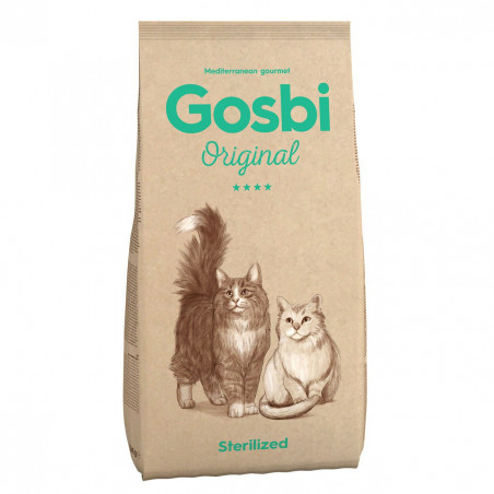 Gosbi - Original - Chat Adulte Sterilisé (1, 3 ou 7 kg)