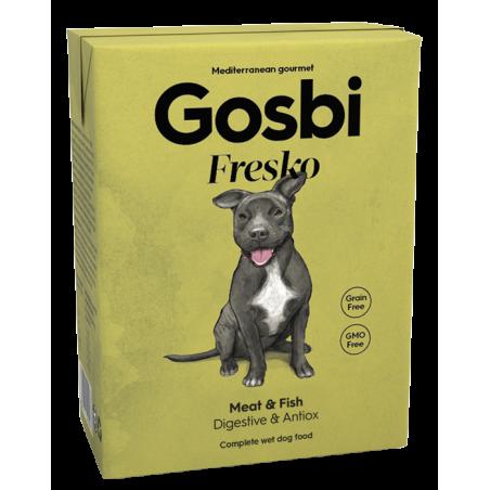 Gosbi - Fresko Chien - Viandes & Poissons (375g)