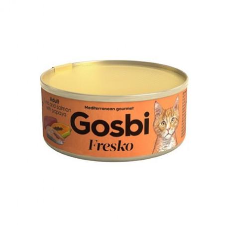 Gosbi - Fresko Chat - Thon, Saumon & Papaye (70g)