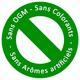logo sans OGM sans colorants sans aromes artificiels www.croqadom.nc