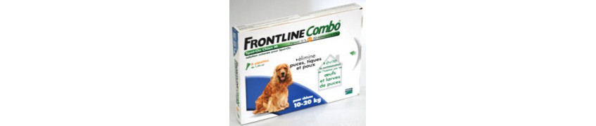 Croqadom anti parasitaires externes frontline pour chat et chien